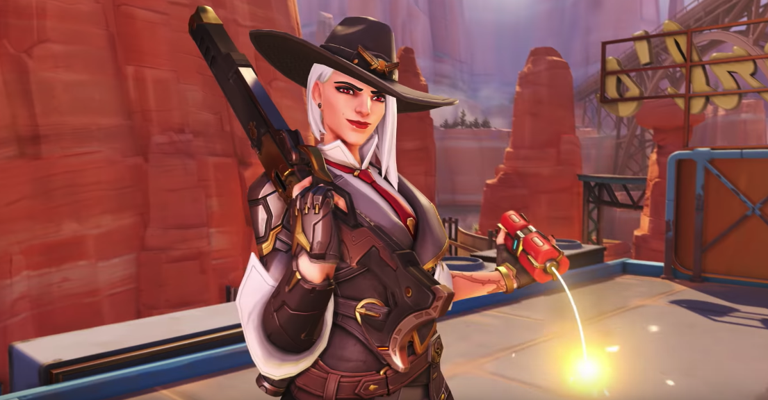 Overwatch's 29th hero, Ashe